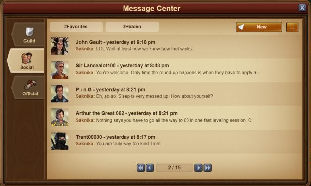 The Message Center v2.0